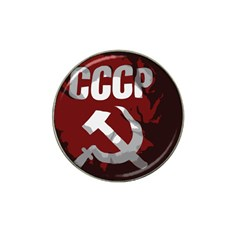 Cccp Soviet Union Flag Hat Clip Ball Marker (4 Pack) by youshidesign