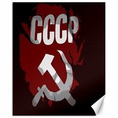 Cccp Soviet Union Flag Canvas 16  X 20  by youshidesign