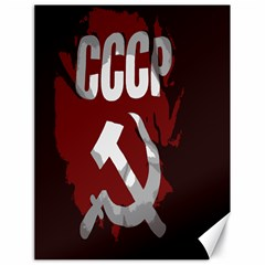 Cccp Soviet Union Flag Canvas 18  X 24  by youshidesign