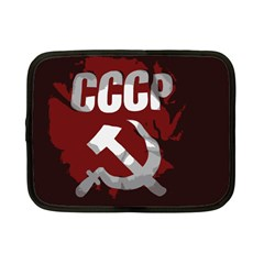 Cccp Soviet Union Flag Netbook Case (small) by youshidesign