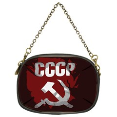 Cccp Soviet Union Flag Chain Purse (one Side) by youshidesign