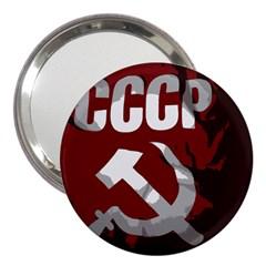 Cccp Soviet Union Flag 3  Handbag Mirror by youshidesign