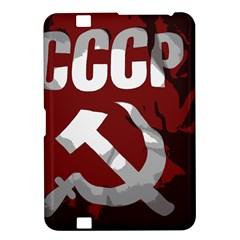 Cccp Soviet Union Flag Kindle Fire Hd 8 9  Hardshell Case by youshidesign