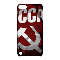 Cccp Soviet Union Flag Apple Ipod Touch 5 Hardshell Case With Stand by youshidesign