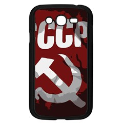 Cccp Soviet Union Flag Samsung Galaxy Grand Duos I9082 Case (black) by youshidesign