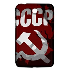 Cccp Soviet Union Flag Samsung Galaxy Tab 3 (7 ) P3200 Hardshell Case  by youshidesign