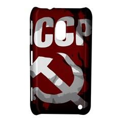 Cccp Soviet Union Flag Nokia Lumia 620 Hardshell Case by youshidesign