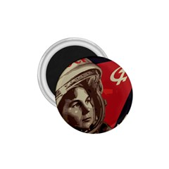 Soviet Union In Space 1 75  Button Magnet by youshidesign