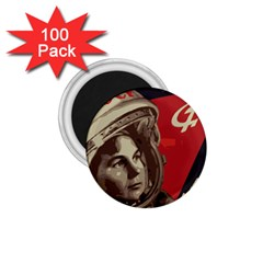 Soviet Union In Space 1 75  Button Magnet (100 Pack) by youshidesign