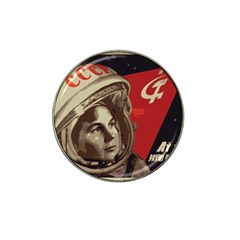 Soviet Union In Space Golf Ball Marker (for Hat Clip) by youshidesign