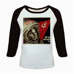 Soviet Union In Space Women s Long Cap Sleeve T Shirt