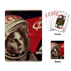 Soviet Union In Space Playing Cards Single Design by youshidesign