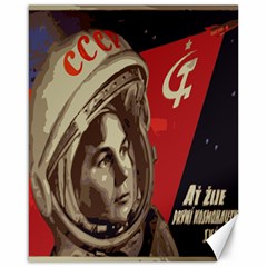 Soviet Union In Space Canvas 16  X 20  (unframed)