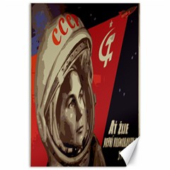 Soviet Union In Space Canvas 24  x 36  (Unframed) by youshidesign