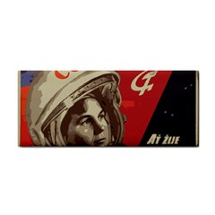 Soviet Union In Space Hand Towel by youshidesign
