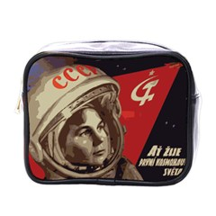 Soviet Union In Space Mini Travel Toiletry Bag (one Side) by youshidesign