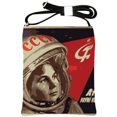 Soviet Union In Space Shoulder Sling Bag by youshidesign