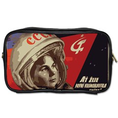 Soviet Union In Space Travel Toiletry Bag (two Sides) by youshidesign