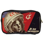 Soviet Union In Space Travel Toiletry Bag (Two Sides) Front