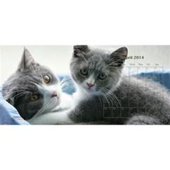 Cat 2014 By Csumkwok   Desktop Calendar 11  X 5    K4nsvtmlvu40   Www Artscow Com Apr 2014