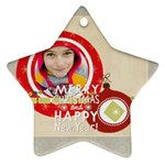 merry christmas - Ornament (Star)