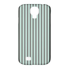 Light Green And Grey Strip Copy Samsung Galaxy S4 Classic Hardshell Case (pc+silicone) by MCGIFTSHOP