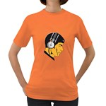 Space Beats Womens' T-shirt (Colored) Front