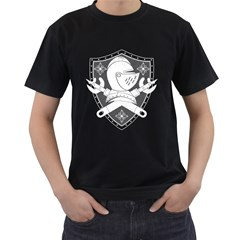 The Seal Mens' Two Sided T Shirt (black)