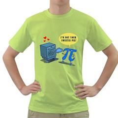 Mistaken Piedentity Mens  T Shirt (green) by Contest1732250