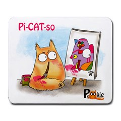 Picatso By Pookiecat Large Mouse Pad (rectangle) by PookieCat