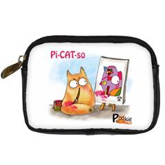 Picatso By Pookiecat Digital Camera Leather Case by PookieCat