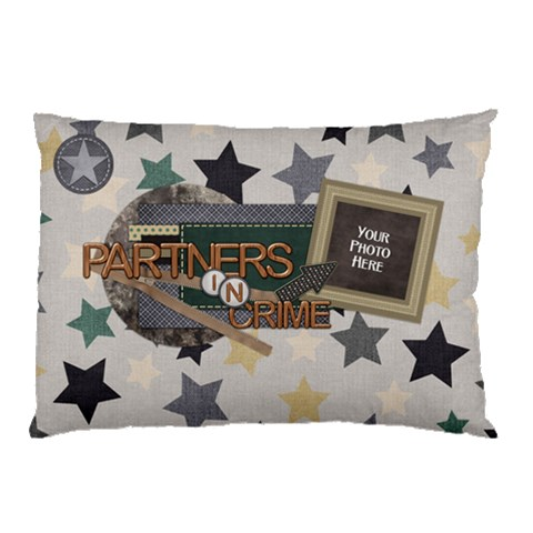Brothers Pillow Case 1 By Lisa Minor   Pillow Case   Appflbumkag9   Www Artscow Com 26.62 x18.9 Pillow Case