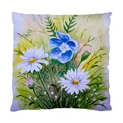 Meadow Flowers Cushion Case (one Side) by ArtByThree