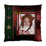 Christmas Star Cushion Case (2 Sides) - Standard Cushion Case (Two Sides)