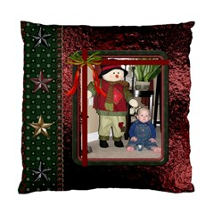 Christmas Star Cushion Case (2 Sides) By Lil    Standard Cushion Case (two Sides)   Pxvuvg33dwqt   Www Artscow Com Back