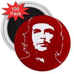 Chce Guevara, Che Chick 3  Button Magnet (100 Pack) by youshidesign