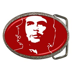 Chce Guevara, Che Chick Belt Buckle (oval) by youshidesign