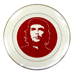 Chce Guevara, Che Chick Porcelain Display Plate by youshidesign