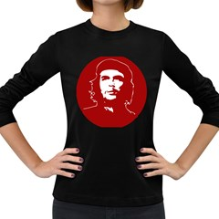 Chce Guevara, Che Chick Womens' Long Sleeve T Shirt (dark Colored) by youshidesign