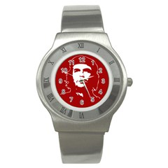 Chce Guevara, Che Chick Stainless Steel Watch (unisex) by youshidesign