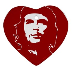 Chce Guevara, Che Chick Heart Ornament (two Sides) by youshidesign