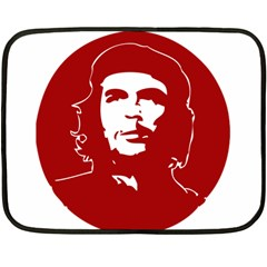 Chce Guevara, Che Chick Mini Fleece Blanket (two Sided) by youshidesign