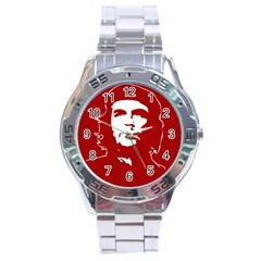 Chce Guevara, Che Chick Stainless Steel Watch (men s) by youshidesign