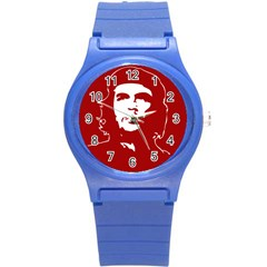 Chce Guevara, Che Chick Plastic Sport Watch (small) by youshidesign