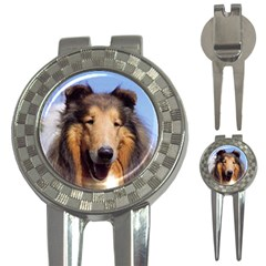 Collie 3-in-1 Golf Divot by goodguywatches