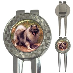 Keeshond 3-in-1 Golf Divot by goodguywatches
