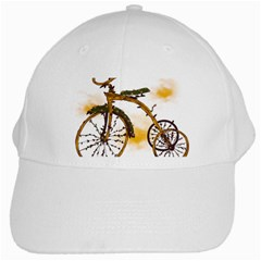 Tree Cycle White Baseball Cap by Contest1753604