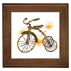 Tree Cycle Framed Ceramic Tile by Contest1753604