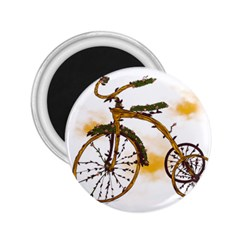 Tree Cycle 2 25  Button Magnet by Contest1753604