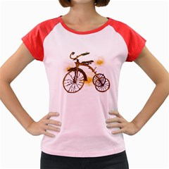 Tree Cycle Women s Cap Sleeve T Shirt (colored) by Contest1753604